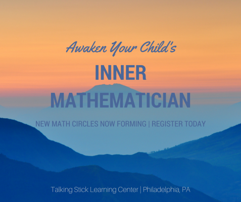 New Math Circles at Talking Stick Learning Center in Philadelphia, PA